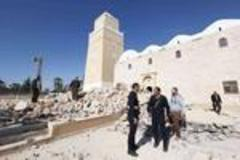 U.S. and Italy to train new Libyan security force